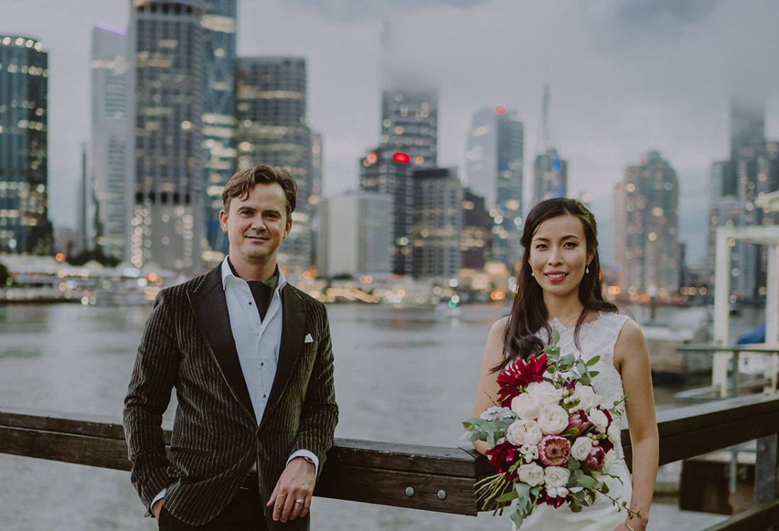 Shelley + Justin @ Riverlife, kangaroo Point Wedding